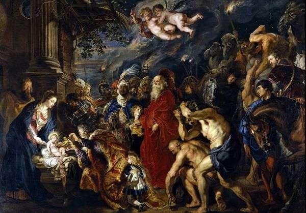 Поклонение волхвов   Питер Рубенс