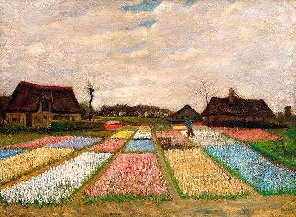 Поля тюльпанов   Винсент Ван Гог