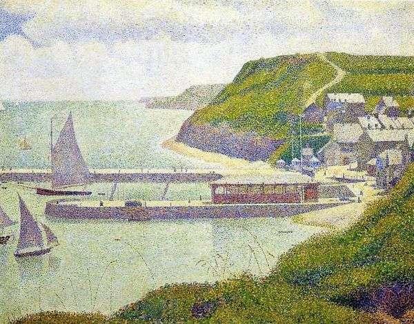 Порт ан Бессен. Морская гавань. Большая вода   Жорж Сера