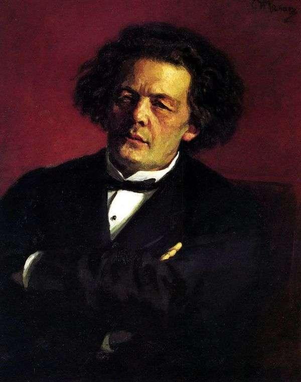 Портрет А. Г. Рубинштейна   Илья Репин