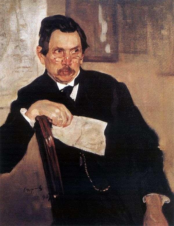 Портрет А. В. Касьянова   Валентин Серов