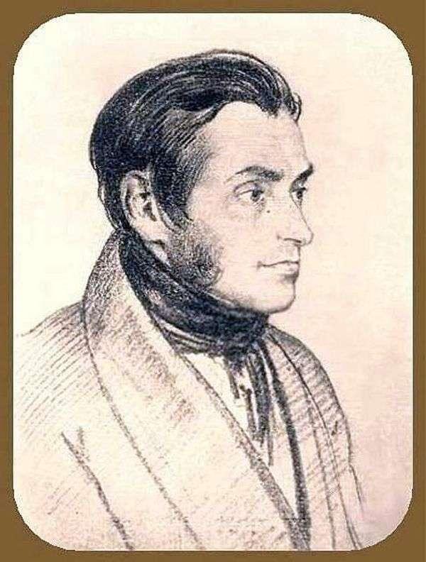 Портрет Адама Мицкевича   Орест Кипренский