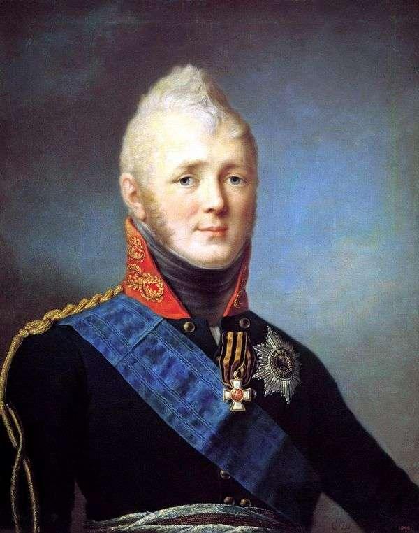 Портрет Александра I   Степан Щукин
