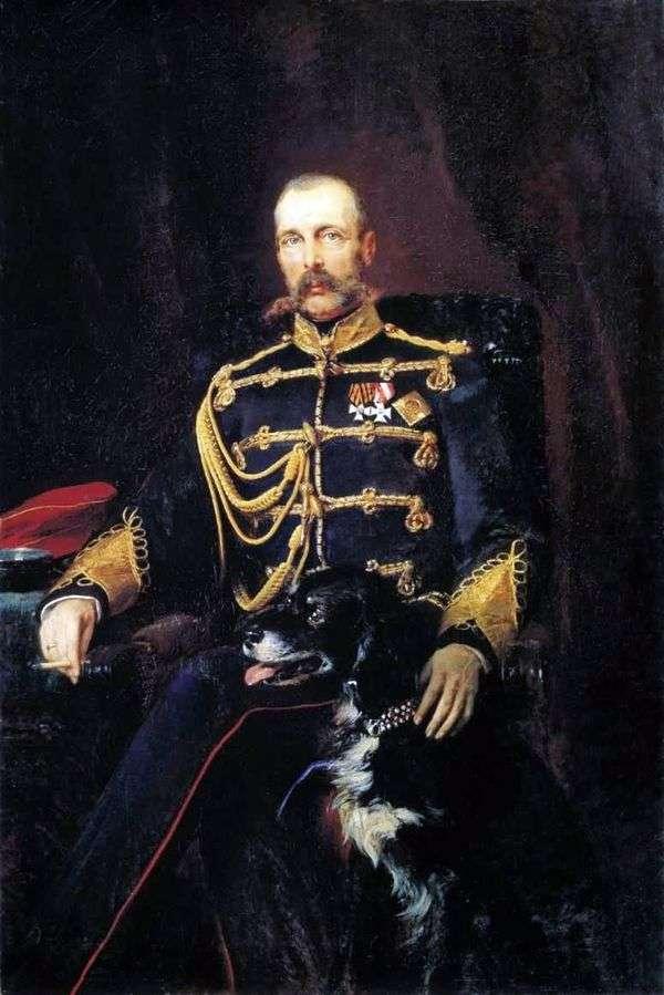 Портрет Александра II   Константин Маковский