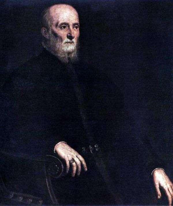 Портрет Альвизе Корнаро   Якопо Тинторетто
