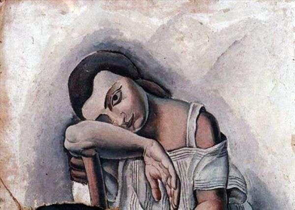 Портрет Анны Марии   Сальвадор Дали