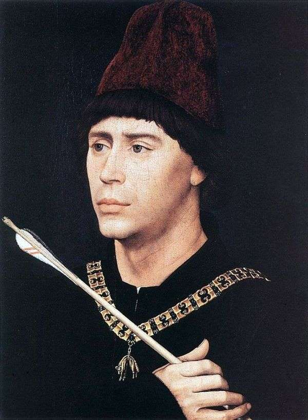 Портрет Антуана Бургундского   Рогир ван дер Вейден