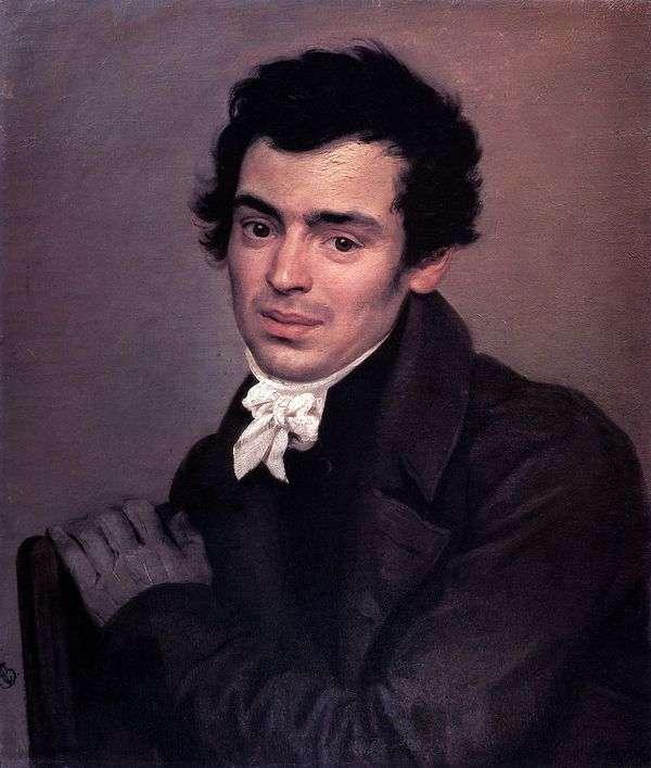 Портрет архитектора К. А. Тона   Карл Брюллов