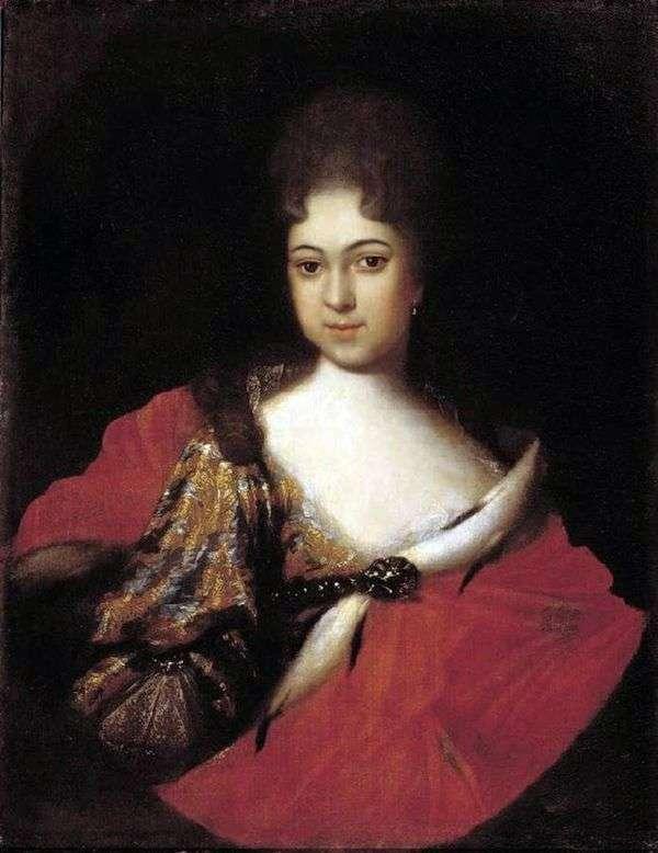 Портрет царевны Прасковьи Иоанновны   Иван Никитин