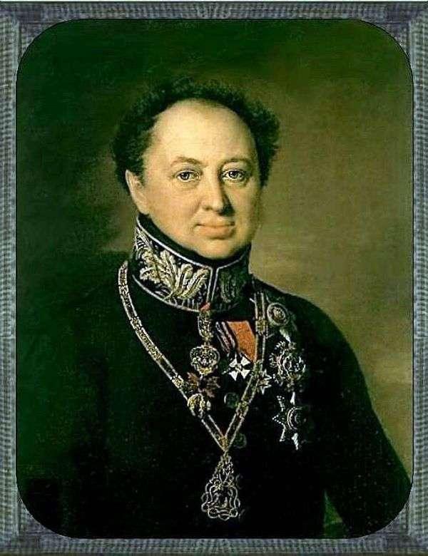 Портрет Д. П. Татищева   Василий Тропинин