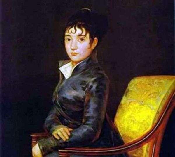 Портрет доньи Терезы Луизы де Суреда   Франсиско де Гойя