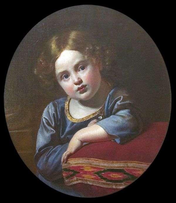 Портрет Е. Г. Гагарина в детстве   Орест Кипренский