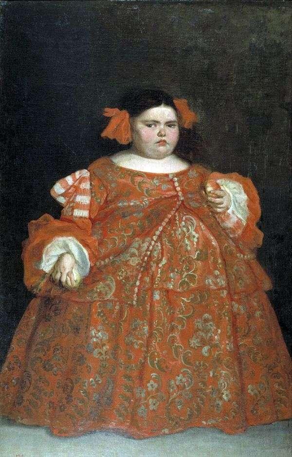 Портрет Евгении Мартинес Вальехо (ла Монстра)   Хуан Карреньо де Миранда