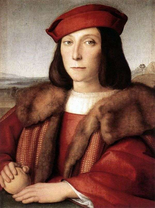 Портрет Франческо Марии делла Ровере   Рафаэль Санти