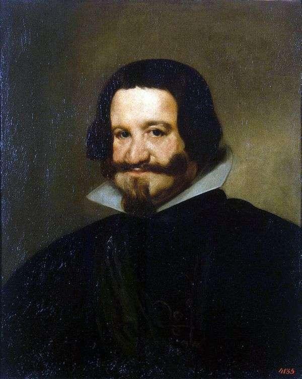 Портрет графа герцога Оливареса   Диего де Сильва Веласкес