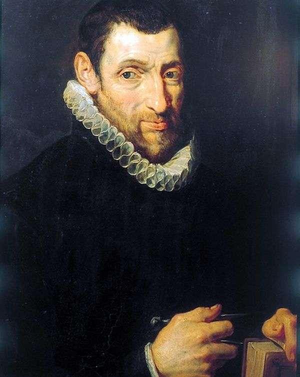 Портрет Христоффеля Плантина (Christoffel Рlantin)   Питер Рубенс