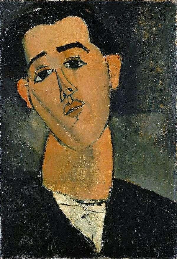 Портрет Хуана Гриса   Амедео Модильяни
