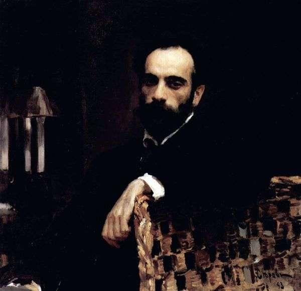 Портрет художника И. И. Левитана   Валентин Серов