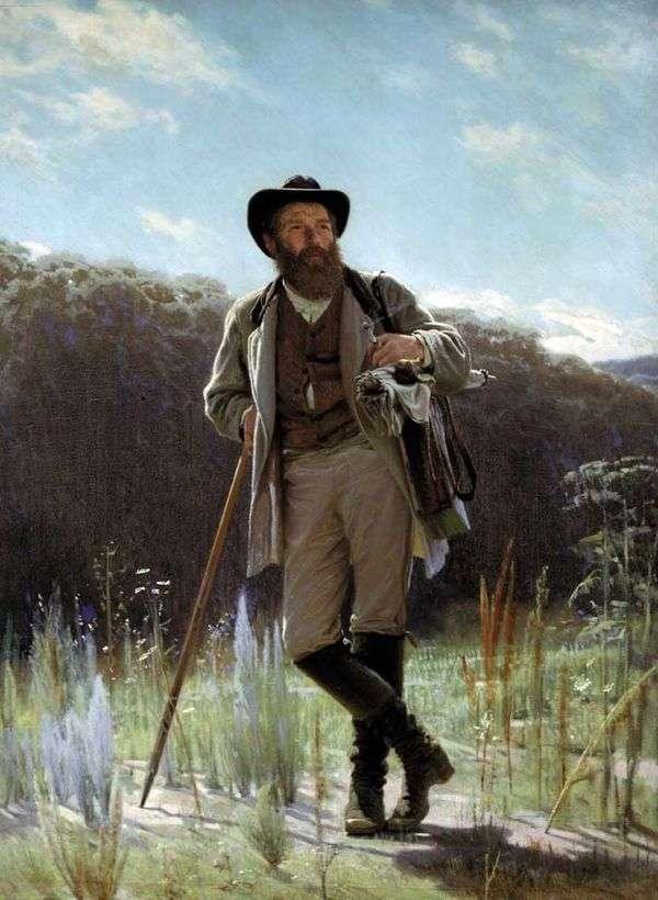 Портрет художника И. Шишкина   Иван Крамской