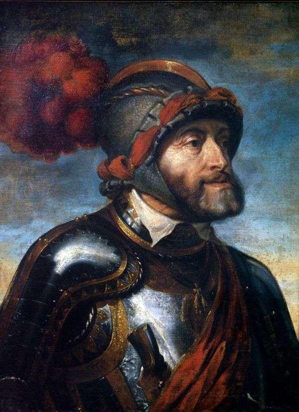 Портрет императора Карл V   Питер Рубенс