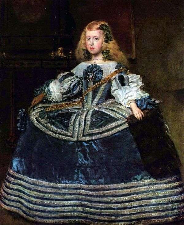 Портрет инфанты Маргариты   Диего Веласкес
