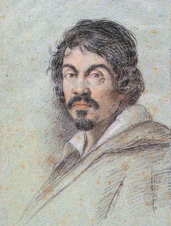 Портрет Караваджо   Оттавио Леони