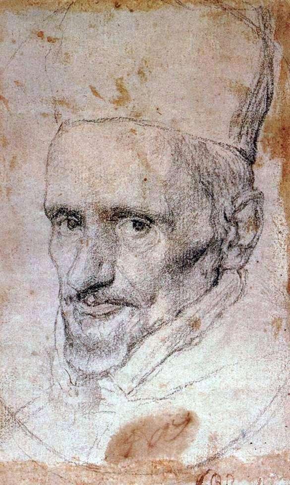 Портрет кардинала Борджиа   Диего Веласкес