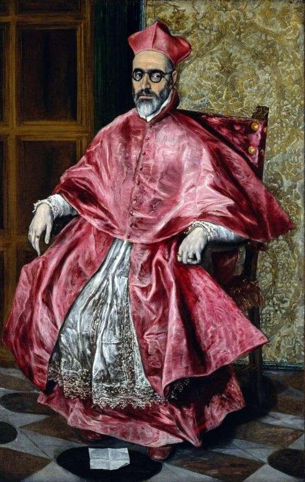 Портрет кардинала   Эль Греко