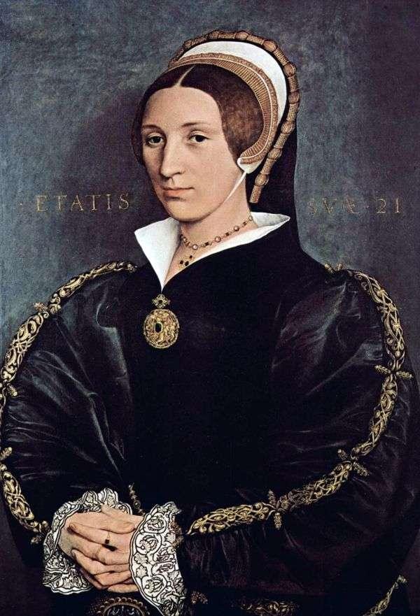 Портрет Катарины Говард, пятой жены короля Генриха VIII   Ганс Гольбейн