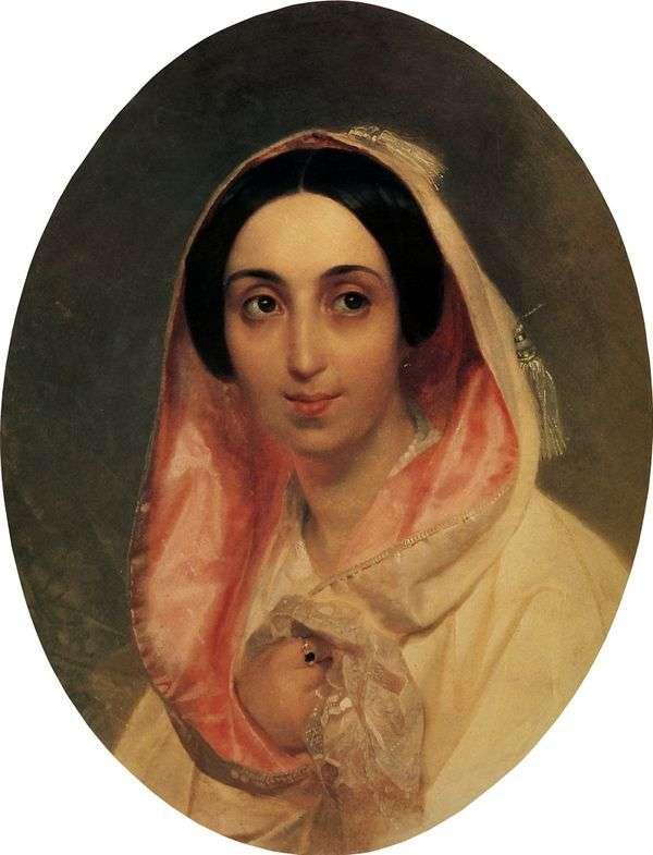 Портрет княгини А. А. Багратион   Карл Брюллов