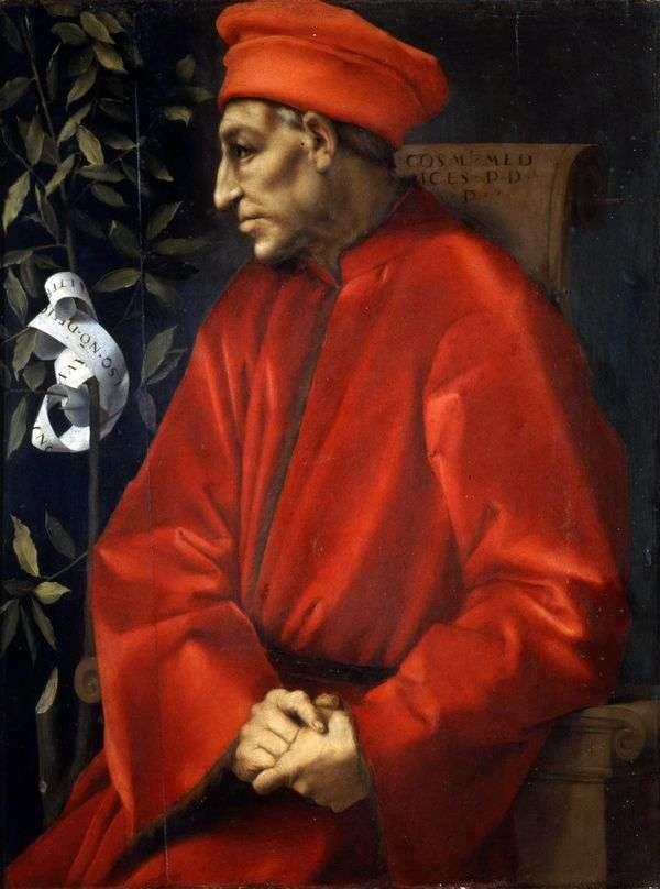 Портрет Козимо Старшего Медичи   Якопо Понтормо