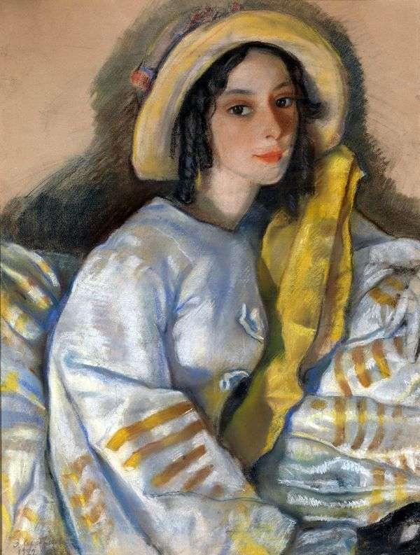 Портрет М. Х. Франгопуло   Зинаида Серебрякова
