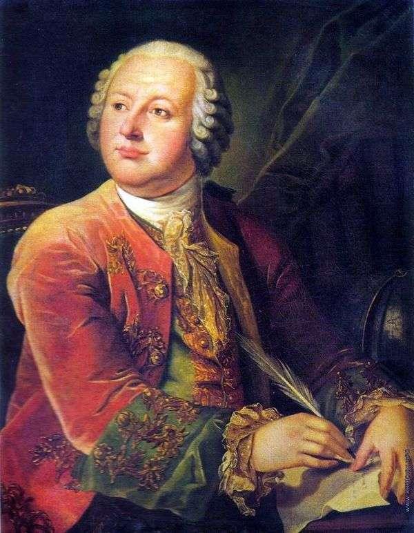 Портрет М. В. Ломоносова   Леонтий Миропольский