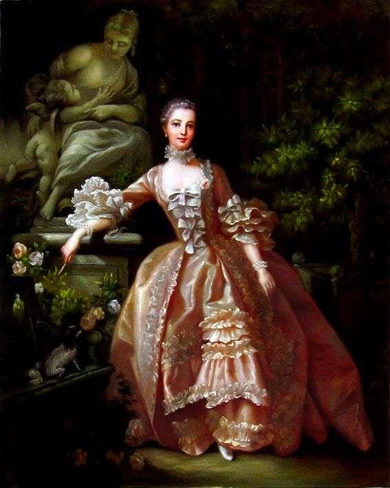 Портрет мадам де Помпадур   Франсуа Буше