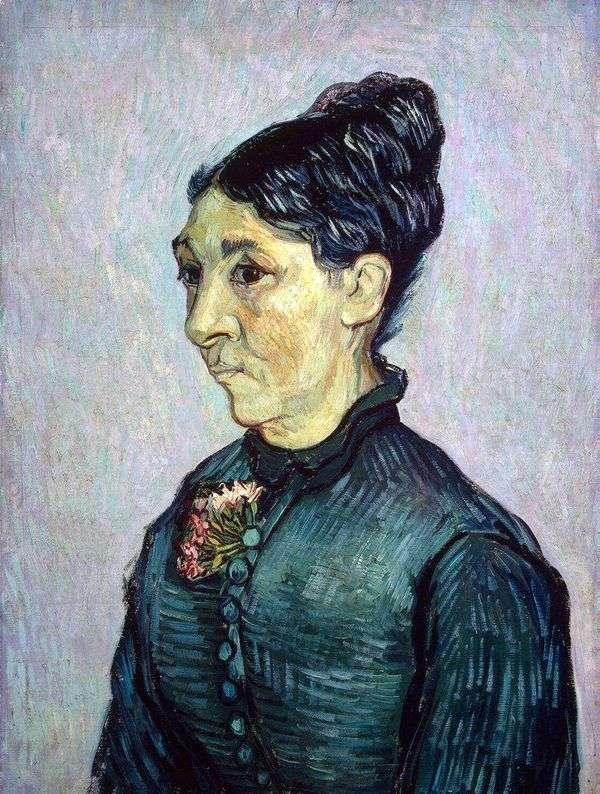 Портрет мадам Трабук   Винсент Ван Гог