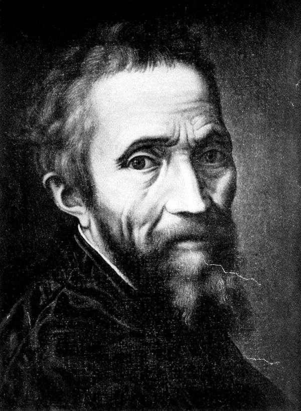 Портрет Микеланджело Буонарроти   Марчелло Венусти