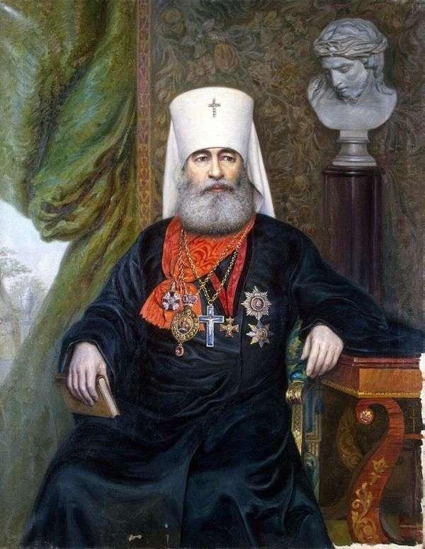 Портрет митрополита Антония   А. А. Карелин