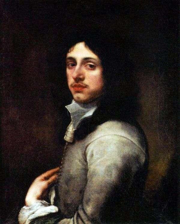 Портрет молодого человека в сером   Бартоломе Эстебан Мурильо