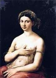 Портрет молодой женщины или Форнарина   Рафаэль Санти