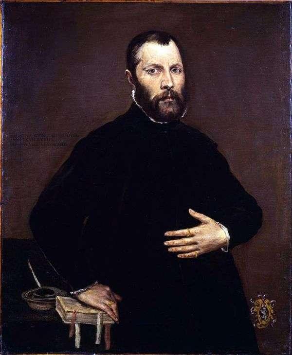 Портрет мужчины   Эль Греко