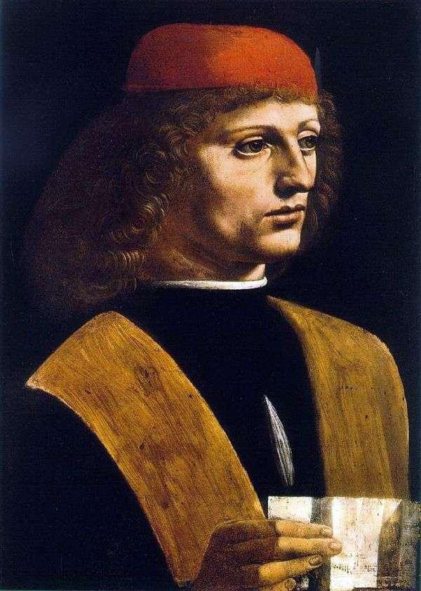 Портрет музыканта   Леонардо Да Винчи