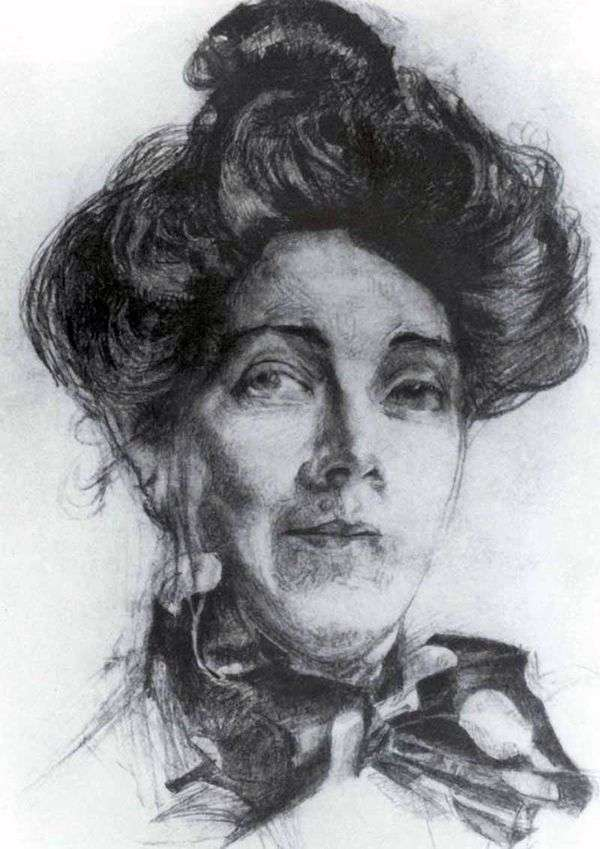 Портрет Н. И. Забелы   Михаил Врубель