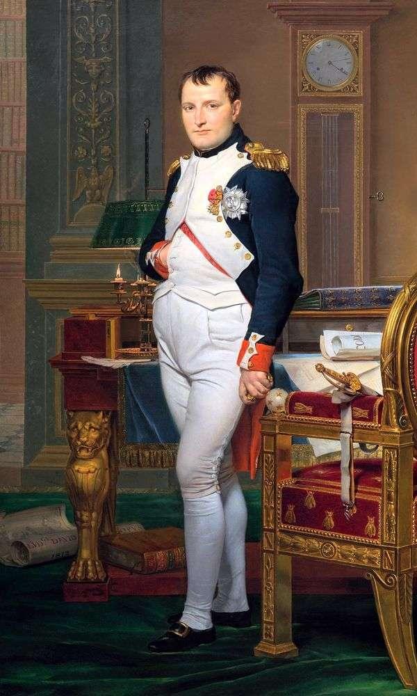 Портрет Наполеона в императорском кабинете   Жак Луи Давид