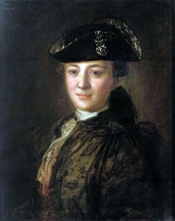 Портрет неизвестного в треуголке   Федор Рокотов