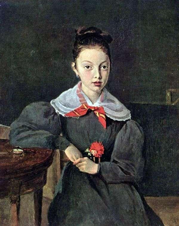 Портрет Октавии Сеннегон   Камиль Коро