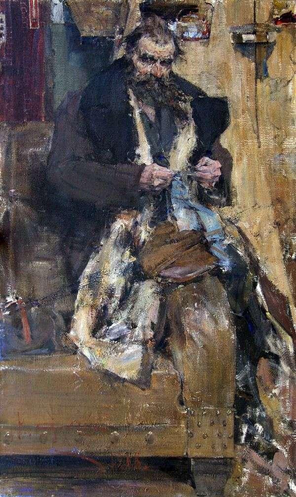 Портрет отца   Николай Фешин