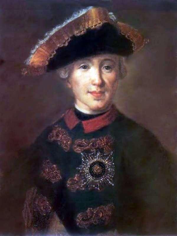 Портрет Петра Федоровича, в будущем Петра IIIг   Федор Рокотов