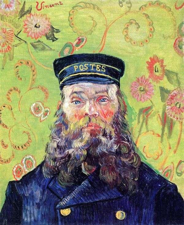 Портрет почтальона Жозефа Рулена III   Винсент Ван Гог