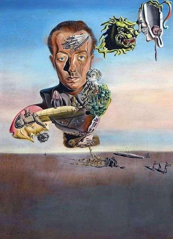 Портрет Поля Элюара   Сальвадор Дали