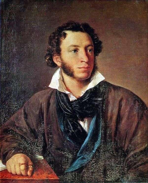 Портрет Пушкина   Василий Тропинин